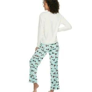 Panda Bear Pajama Bearly Awake PJ Pants and Top Se